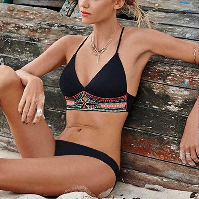 05df422a7f22c plus xxl size bikini 2018 new swimwear sexy women swimsuit bathing suit  beach swim suit push up halter brazilian maillot de bain