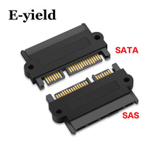 Profesyonel SFF 8482 SAS SATA 180 derece açı adaptörü dönüştürücü düz kafa anakart için