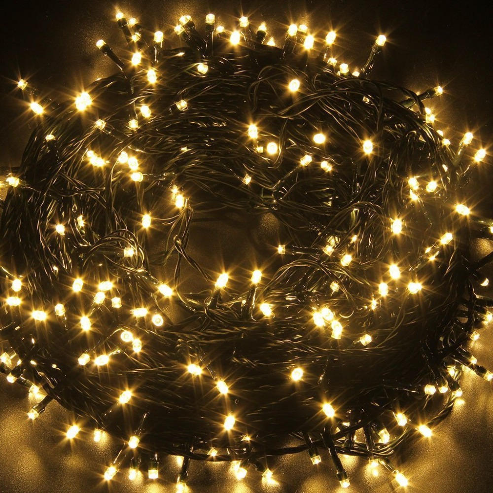 10M 20M 30M 100M Waterproof LED Fairy String Lights Garland Christmas Party Wedding Xmas Holiday Lights Outdoor Home Decoration 3