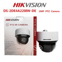 Hikvision English Version DS 2DE4A220IW DE 20X Optical Zoom 2MP Network Mini PTZ Dome Camera POE