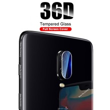 2PC on Camera Glass for OnePlus 7 Pro 6 6T Screen Protector One Plus 5T 36D