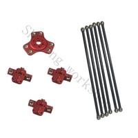 SWMAKER Kossel k800 magnetic effector, carriage, 180mm carbon tube Diagonal push rods full kit for DIY kossel 3D printer