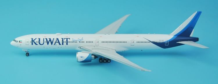 new Fine Phoenix 1: 400 11338 Kuwait Airways B777-300ER 9K-AOC Alloy aircraft model Collection model Holiday gifts fine phoenix 1 400 11198 thai airways b787 8 hs tqb alloy aircraft model collection model holiday gifts