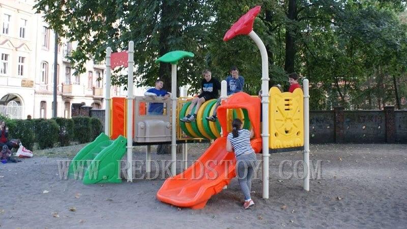 컬럼비아 아연 도금 강철 놀이터 장비에 수출 parque infantil HZ-14402