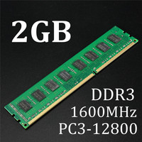 Brand New 2GB DDR3 PC3 12800 1600MHz Desktop PC DIMM Memory RAM 240 Pins For AMD