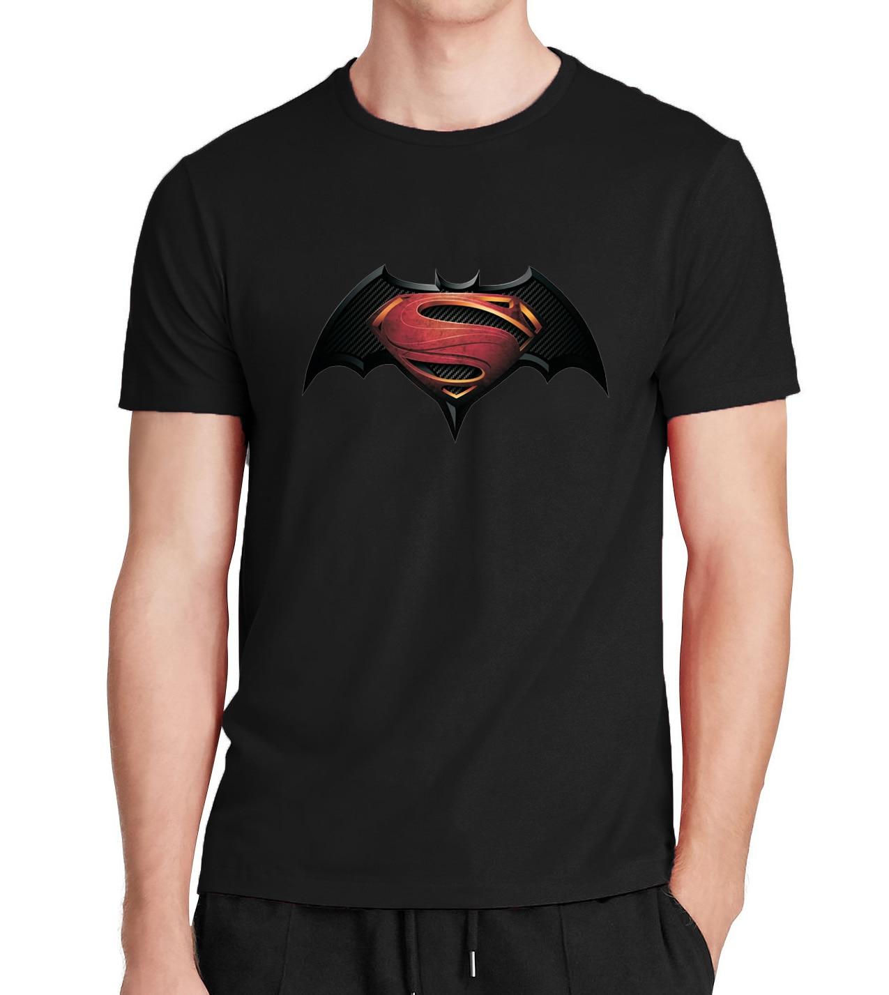 Batman Marvel Superman hero men 39 s Brand clothing tshirt Summer 100 cotton Fitness Bodybuilding shirt black retro t shirt Tops in T Shirts from Men 39 s Clothing