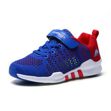 2019 new childrens fashion boys shoes big children summer and girls mesh breathable sports