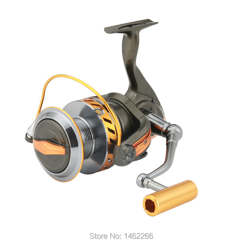 Image 4 - WOEN 10000 type Full metal wire cup Anchor reel 12+1BB Boat fishing Spinning wheel reel CNC rocker arm-in Fishing Reels from Sports & Entertainment