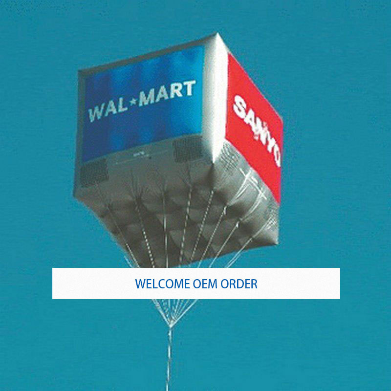 2M By 2m Inflatable Square Advertising Helium Balloon