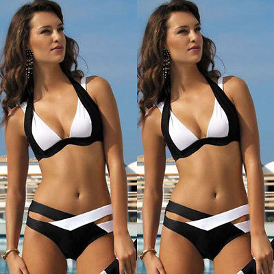 GLANE Padded Swimwear Women Neoprene Bikini Woman New Summer 2017 Sexy Swimsuit Bath Suit Push Up Bikini set Bathsuit Biquini neoprene swimwear women bikini woman new summer 2017 sexy swimsuit bath suit push up bikini set bathsuit ta008y