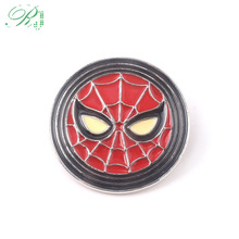 RJ New Avengers Spiderman Brooches Thor Loki Hammer Pins Justice Leagu