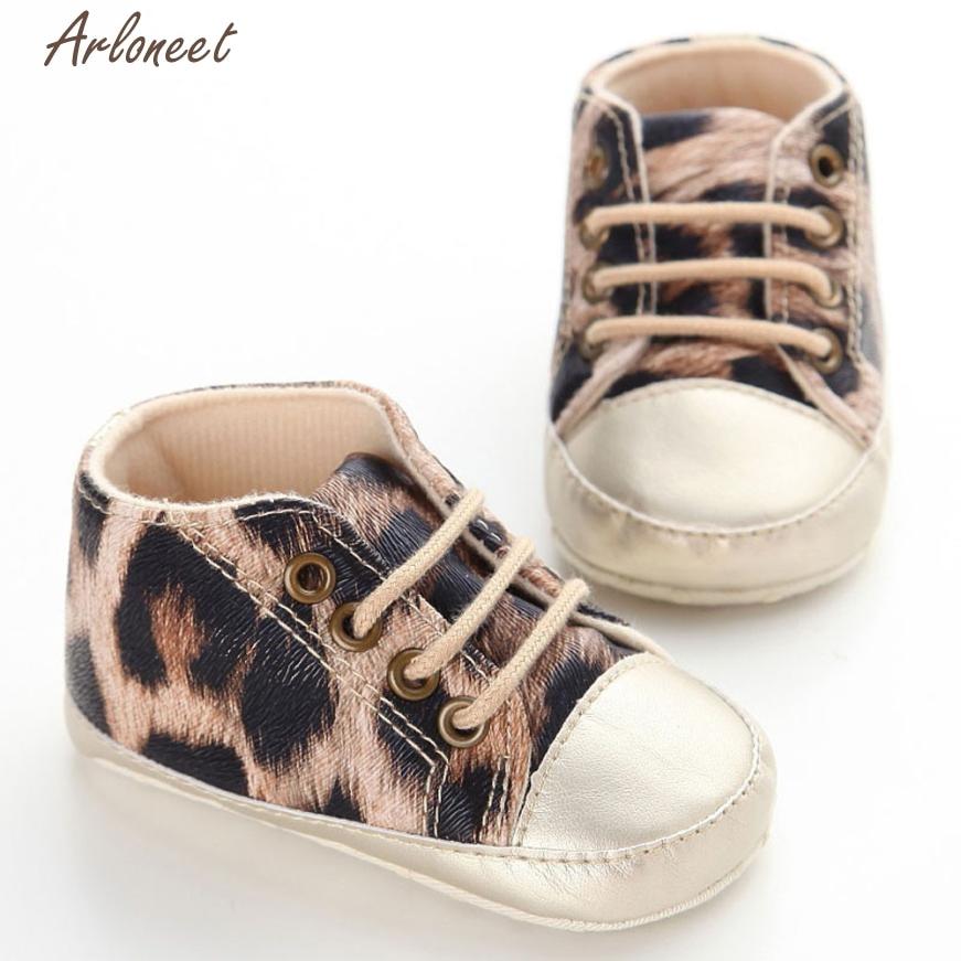 2017 FASHIONBaby Infant Kids Girl Soft Sole Crib Toddler Newborn Shoes