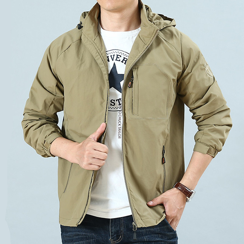 Army Military Camouflage Male Clothing US Army Tactical Men's Windbreaker Field Jacket Outwear Hunt Hunting Clothes Tactico Gear