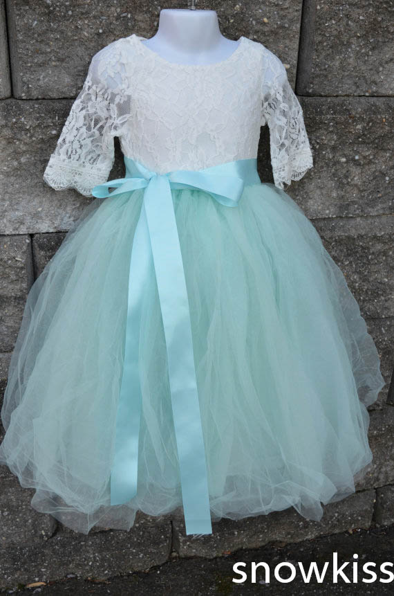 Compare Prices on Girls Mint Green Lace Dress Online ShoppingBuy