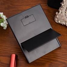 Portable LED Light Travel Compact Pocket Tri-Fold Makeup Mirror