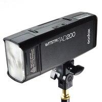 Godox AD200 TTL 2.4 г 1/8000 s HSS Карманный вспышки света двойной головкой 200ws с 2900 мАч литиевых батарея с 2.4 г беспроводной системы X