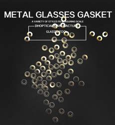 Металлические очки прокладка, очки инструмент Аксессуары 10000 шт./лот Оптовая продажа, Бесплатная доставка