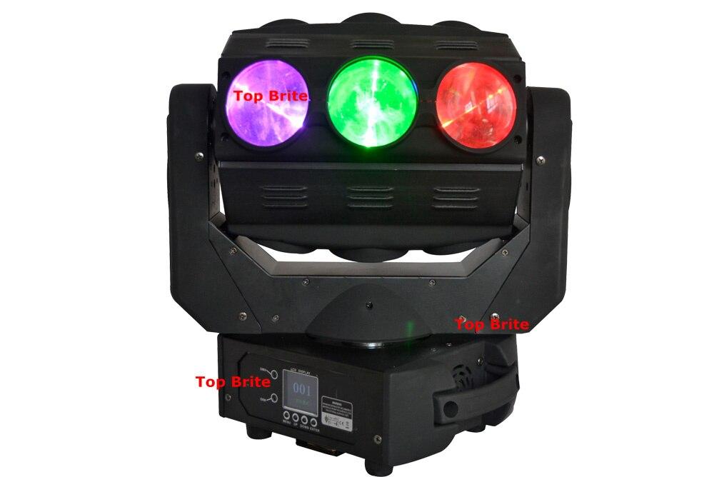 Kilang Rekaan Baru Harga 1Pcs / Lot 9X10W Roller LED Moving Head - Pencahayaan komersil - Foto 3