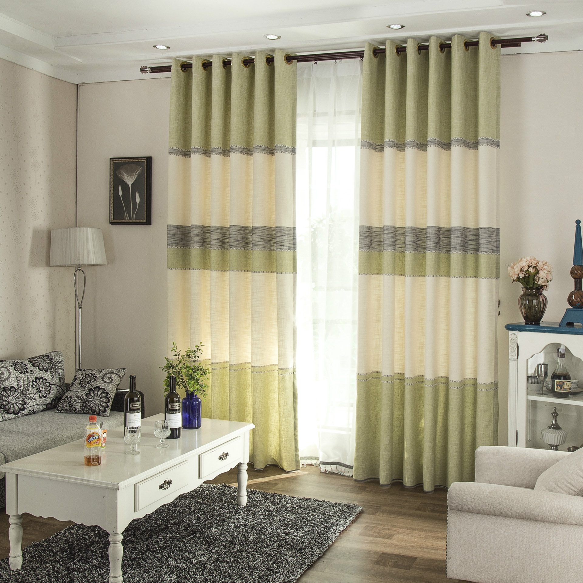Living room curtains 2016 - Curtains For Bedroom 2016 New Curtains Modern Minimalist Small Fresh Style Bedroom Curtains Special Offer Wholesale