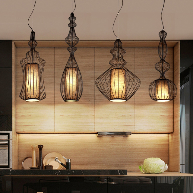 American Country Birdcage Pendant Lights Fixture White Black Nordic Bird Cage Droplight Home Indoor Lighting Big Noble Hang L& & Online Shop American Country Birdcage Pendant Lights Fixture White ... azcodes.com
