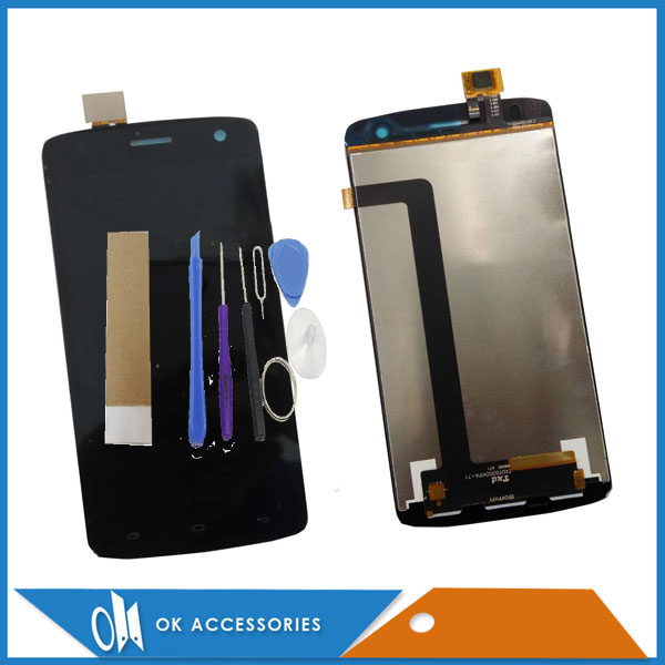 Black White Color For Fly Era Life 6 IQ4503 LCD Display+Touch Screen Digitizer Assembly High Quality With Tools Tape 1PC/Lot .