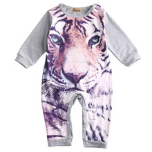 2016 Newborn Kids Baby Boy Girls Infant Bodysuit Clothes Outfit 0 24M