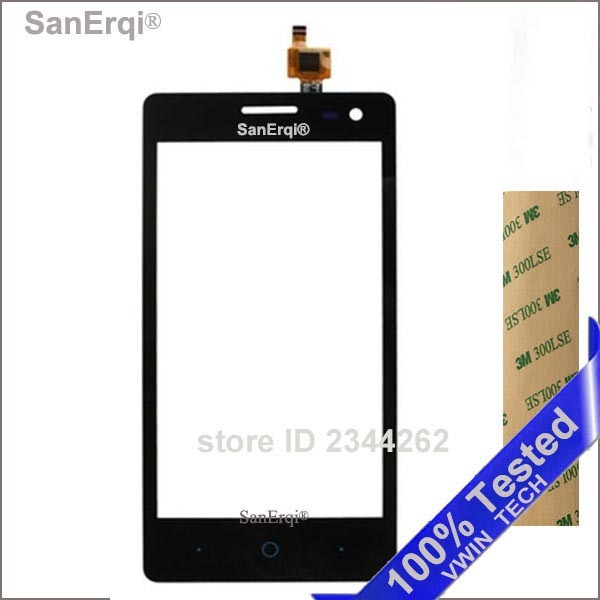 """SanErqi Tested For ZTE Blade GF3 Q Pro T320 V831 4.5"""" Touchscreen Capactive Digitizer Sensor Front Glass Touch Screen Panel"""