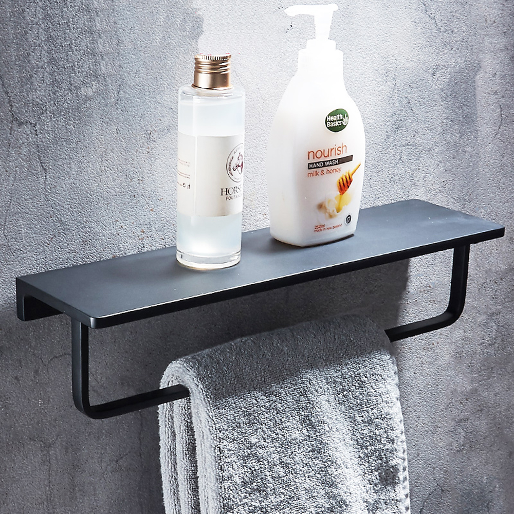Home Improvement Bathroom Shelves Cheap Sale A1 Wei-free Perforated Waterproof Toilet Absorbent Washbasin Storage Rack Raw Shelf Wall Bathroom Wall Lo5151146
