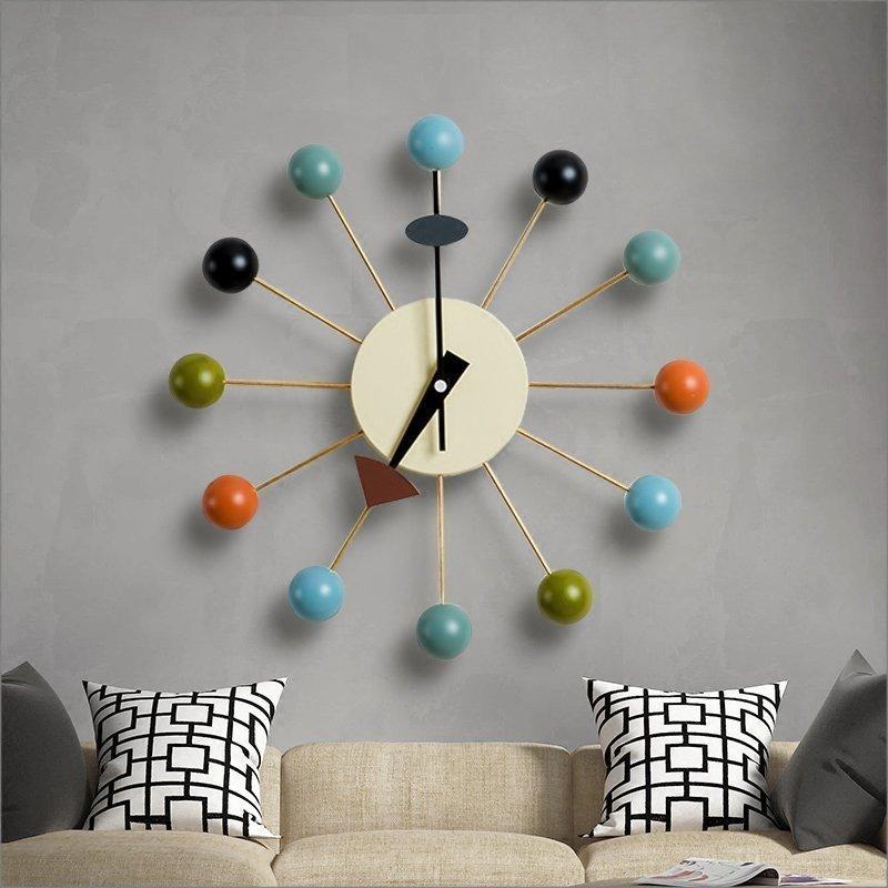€70.71  Minimaliste Design moderne boule décoration salon mur décoration  moderne maison accessoire coloré boule décoration-in Porte-manteaux from ...