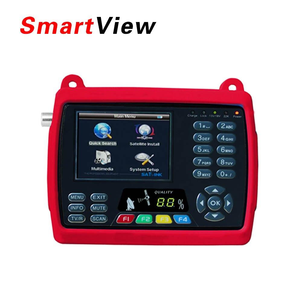 Original Satlink WS 6950 3.5 inch Digital Satellite Signal Finder Meter WS6950 WS 6950 Free Shipping