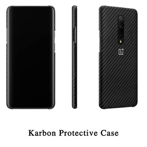Image 4 - 100% Original OnePlus 7 Pro Case OnePlus 7 Pro Bumper Case Karbon Nylon Official Protective Cover