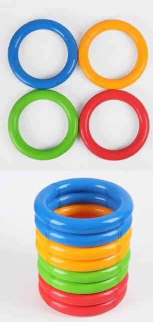 Гимнастика кольцо детский сад Танцы спортивный инвентарь Дети фитнес спорт  пластиковые игрушки 6c5868e45d5