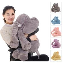 Дропшиппинг 40/60 см слон Подушка Мягкие Спальные Мягкие Животные плюшевые игрушки Детские Playmate подарки для детей