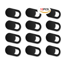 Webcam Cover 0.026in Ultra-Thin Web Camera For Macbook Laptop Pro 12pcs