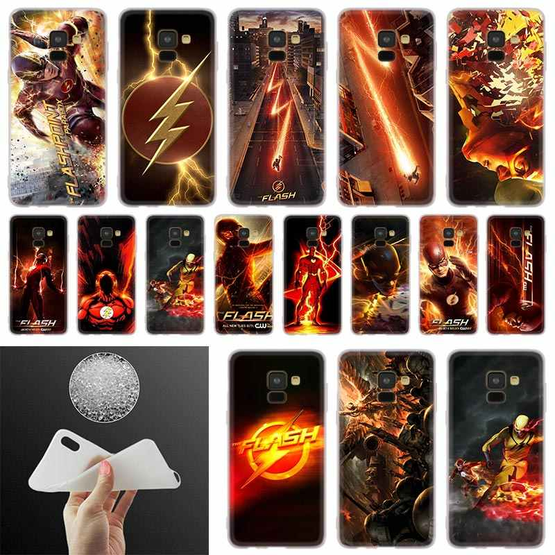 flash tv series Phone Case For Samsung Galaxy A10 A20 A30 A40 A50 A60 A70 A6 A8 Plus A7 A9 2018 A3 A5 2017 Soft Cover Coque