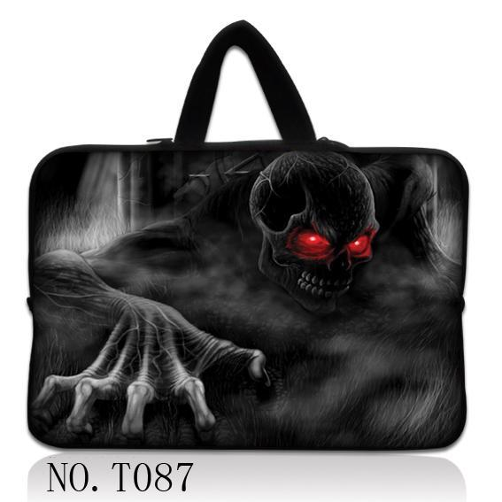 Ghost Notebook Cover Sleeve Soft Computer Pouch Laptop Case Bag 11 12 13 14 1515.61713.317.3 For Dell Hp Asus