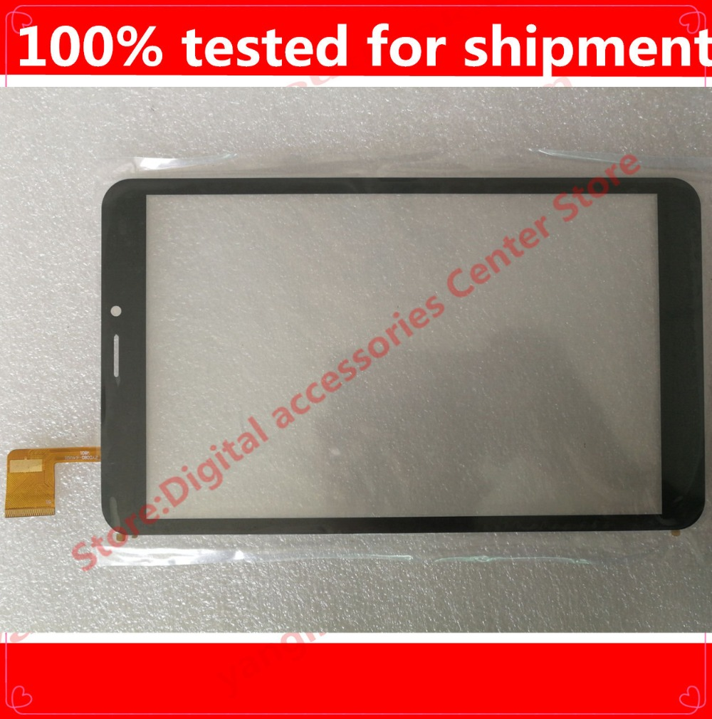 10PCS/LOT Black New Touch Screen Digitizer For 8
