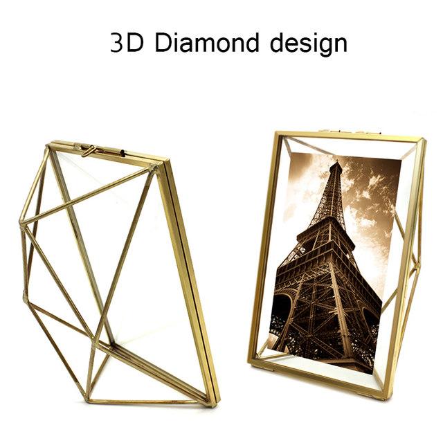 Tienda Online Aqumotic 3D marco del Metal del diamante doble cara de ...