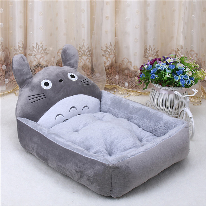 PP Cotton Kennels Cat House Dog Pad Teddy Mats Big Blanket Supplies Cute Pet Dog Bed Mats Animal Cartoon Shaped Pet Sofa Kennels 8