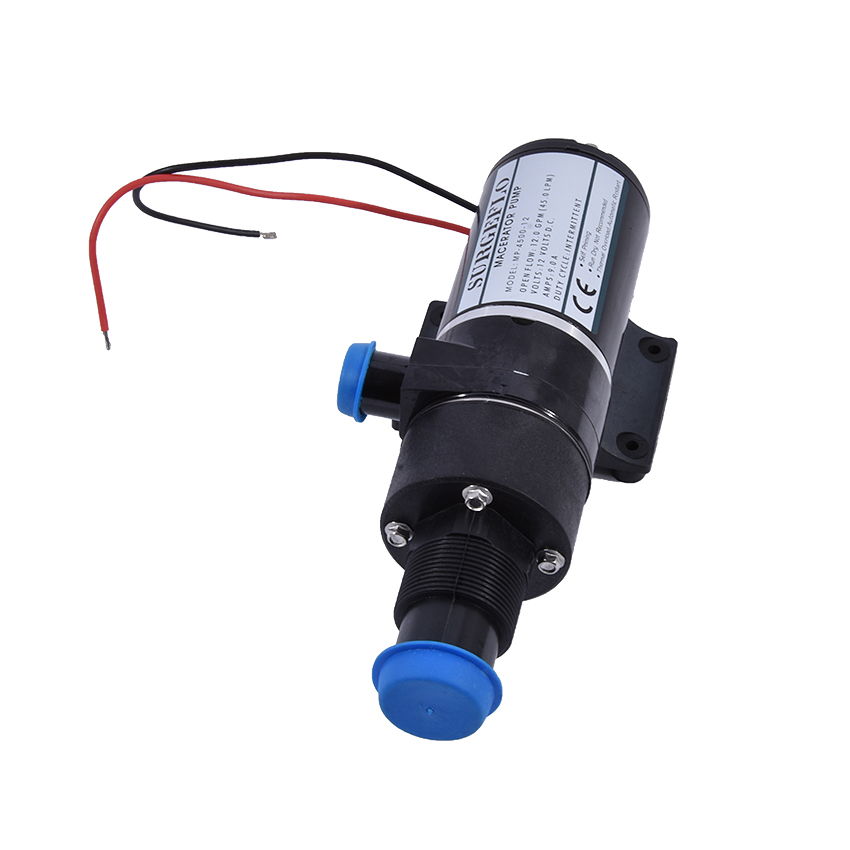 New MP-4500 Cutting Type Sewage Pump Household Toilet Garbage Pump Kitchen No Clogging DC 12V 24V Sewage Pump 45/12 (lpm / gpm) stainless steel sewage export to 56 countries 100m3 h electric submersible sewage pump