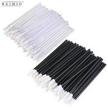 200pcs Disposable Lip Brushes Lipstick Gloss Wands Applicator Makeup Tool Kits Brush