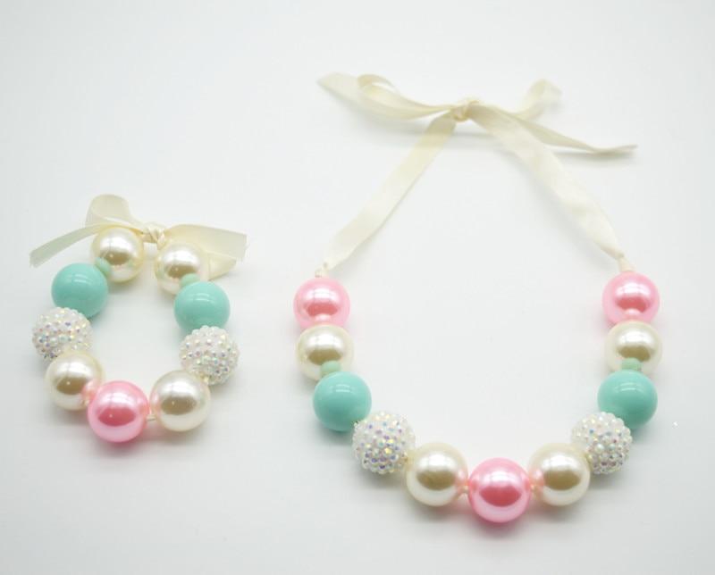 2016 New Style Baby Girls Jewelry Sets Kids Chunky Bubblegum ...