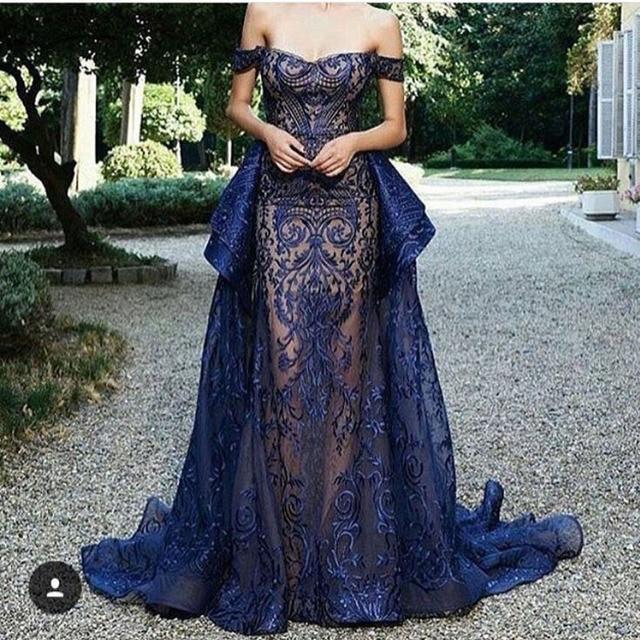 Peplum Sexy Formal Gowns