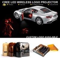 Araba Kapı Hoşgeldiniz Işık Lazer Devil May Cry Dante GOBO Logo Işık Hoşgeldiniz Hayalet Gölge Puddle Amblem LED Spot 0055