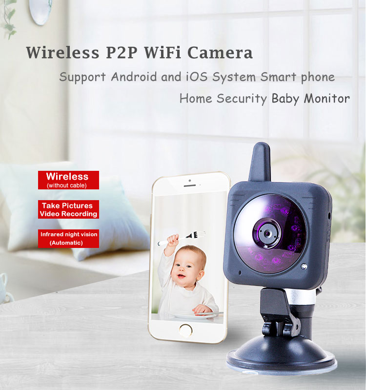 Portable wifi Baby Camera Mini Wireless camera Digital professional wireless webcamera webcam WiFi Camera Video Surveillance