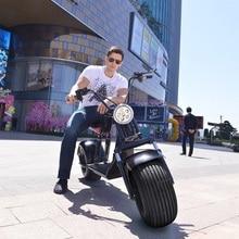 Электрический литиевая Батарея Citycoco для е-байка 60V 12/20AH двойной дисковый тормоз Противоугонная Системы Moto Лонгборда в байкерском стиле
