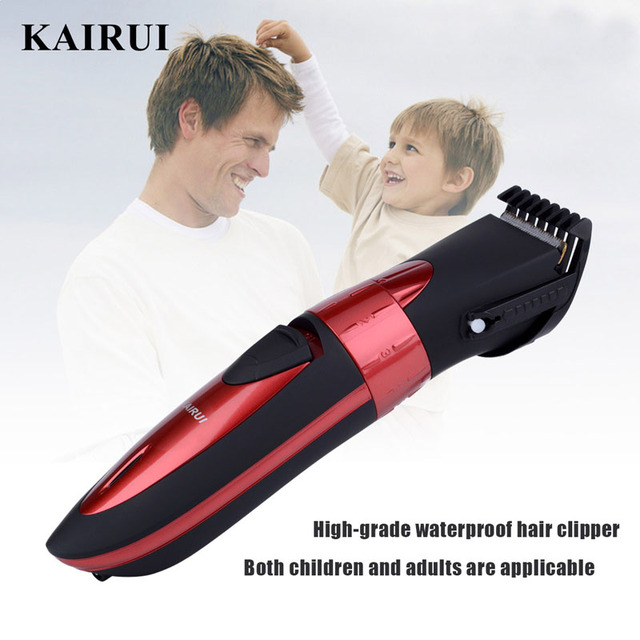 Wireless Rechargeable Electric Washable Hair Trimmer Barber Cutting Machine haircut for Children and Adults low noise shaver