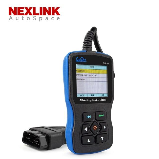 Новый Создатель C310 + Pro V6.1 Версия OBD 2 OBDII Multi-системы Code Reader сканер Для BMW Mini OBD2 Scan Tool PK inpa k dcan d может