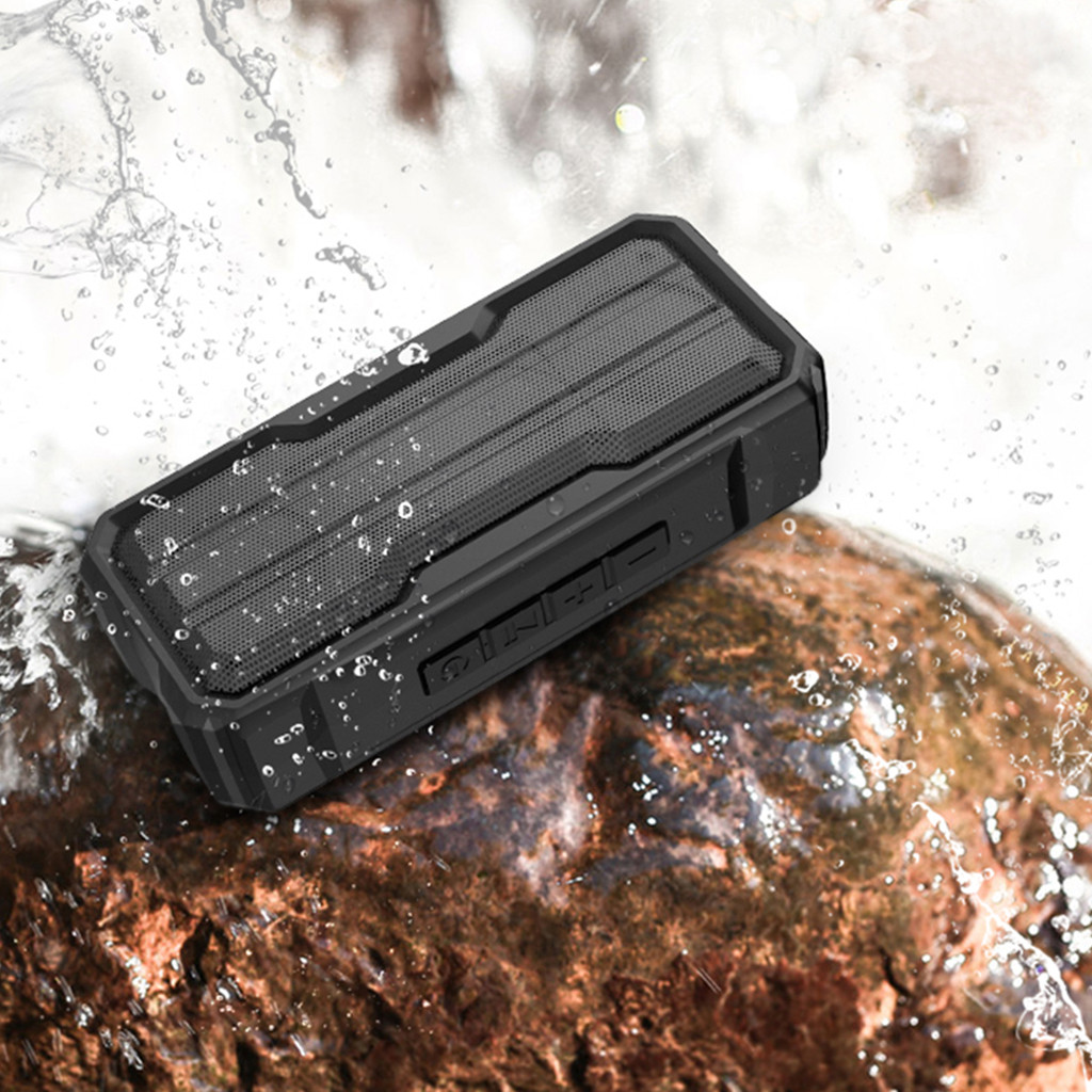 Portable Bluetooth Speaker Waterproof Sports Stereo Wireless music speaker waterproof Bluetooth enabled With MIC stereo Speakers-in Portable Speakers from Consumer Electronics
