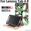 100 High Quality Leather Case For Lenovo Tab 4 8 Hand Hold Full Protective Cover For